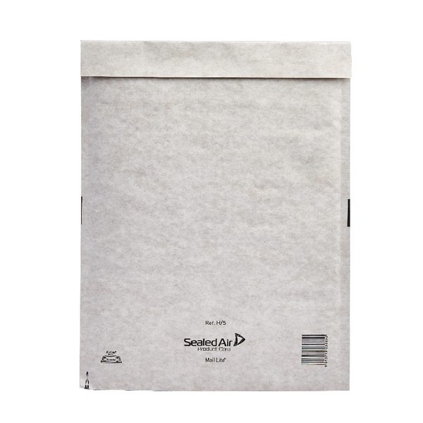 Mail Lite Bubble Lined Size H/5 270x360mm Postal Bag (Pack of 50) MLW H/5 - MQ02008
