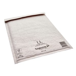 Mail Lite LL Bubble Lined Size 230x330mm White Postal Bag (Pack of 50) MAIL LITE LL – MQ00217
