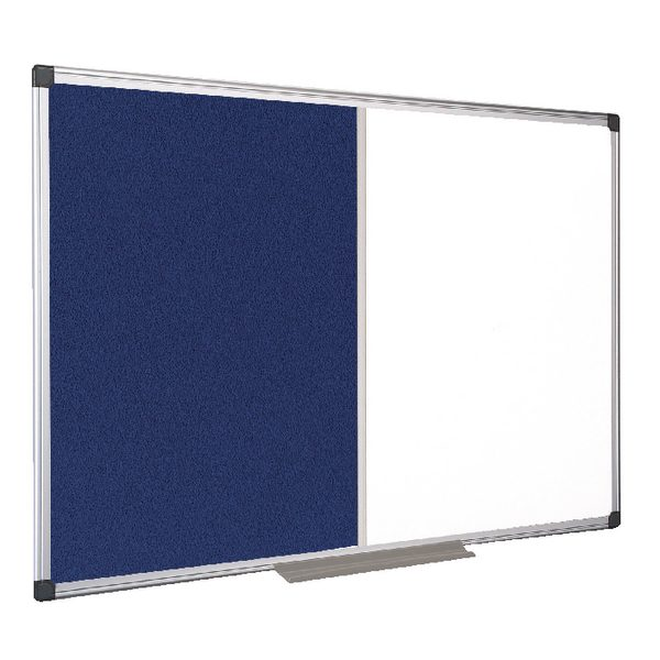 Bi-Office Combination Magnetic and Felt Board 1200x900mm XA0522170