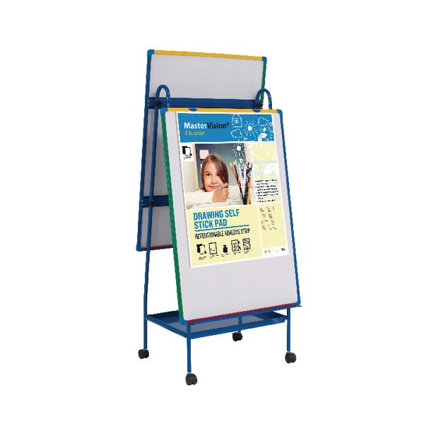 Bi-Office Schoolmate Creation Station Easel and Multivision Drawing Pad EA49145026