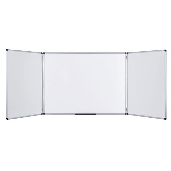 Bi-Office Trio Magnetic Whiteboard 1200x900mm TR02020509170