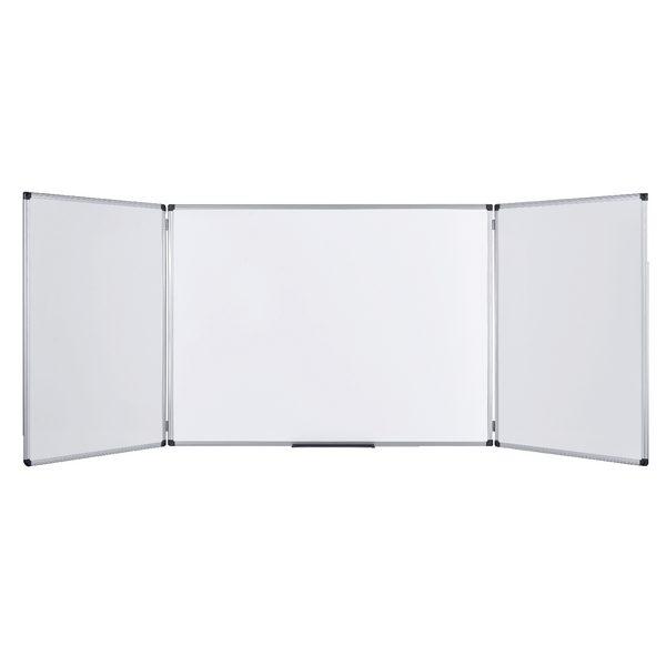 Bi-Office Trio Board 1200x900mm Non Magnetic Dry Erase TR02010302170