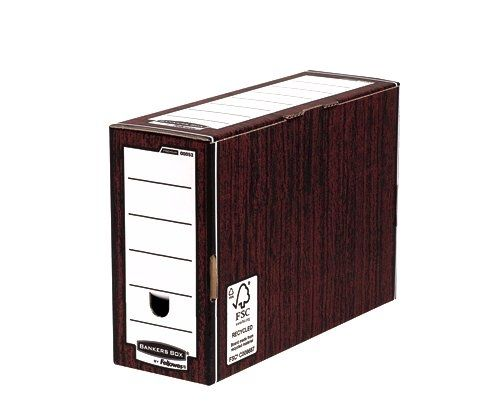 Bankers Box Woodgrain Premium Transfer Files (Pack of 10) 0005302 - BB00531
