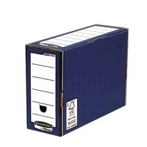 Fellowes Bankers Box Premium Transfer File Blue /White 00059-FF - BB00591