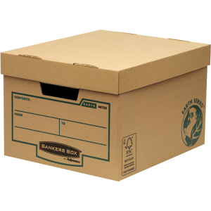 Bankers Box Earth Series Storage Box Brown (Pack of 10) 4472401 - BB67063