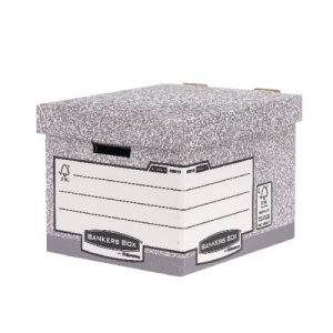 Fellowes Heavy Duty Bankers Box W333xD390xH285mm Standard (Pack of 10) 0081801 - BB70981