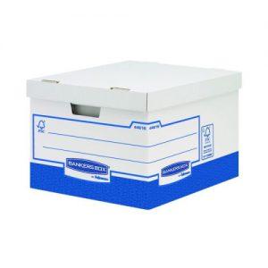 Fellowes Basics Storage Box Heavy Duty Large (Pack of 10) BB72106 - BB72104