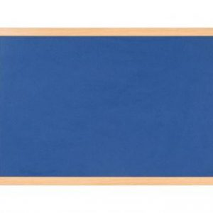 Bi-Office Earth Felt Notice Board 900x600mm Blue RFB0743233 - BQ04348