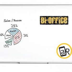 Bi-Office Maya Non-Magnetic Melamine Whiteboard 1500x1000mm MA1512170 - BQ11151