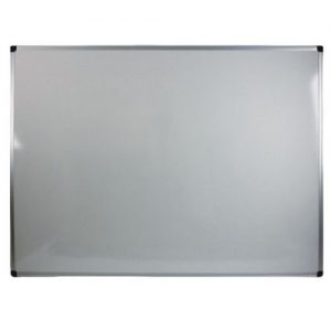 Bi-Office Aluminium Trim Drywipe Board 1200x900mm MB0512170 - BQ11512