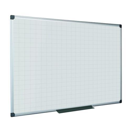 Bi-Office Maya Magnetic Whiteboard Gridded 1200x900mm MA0547170 - BQ11547