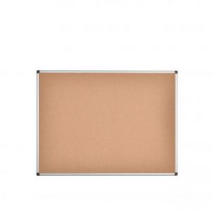 Bi-Office Aluminium Frame Cork Noticeboard 1200x900mm CA051170 - BQ42051