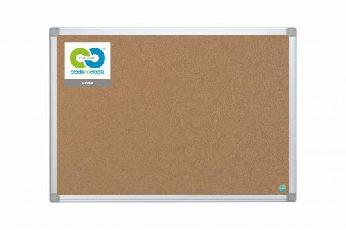Bi-Office Earth Cork Noticeboard 1200x900mm CA051790 - BQ42059