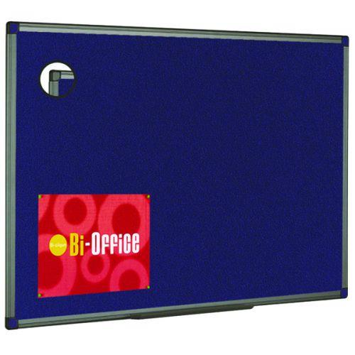 Bi-Office Felt Noticeboard 1200x900mm Blue FB1443186 - BQ44316