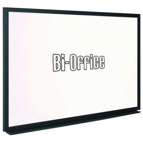 Bi-Office Black Frame Whiteboard 900x600mm MB0700169 - BQ46016