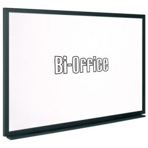Bi-Office Black Frame Drywipe Board 600x450mm MB0400169 - BQ46040