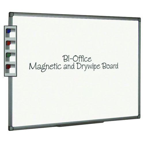 Bi-Office Aluminium Finish Magnetic Whiteboard 600x450mm MB0406186 - BQ46061