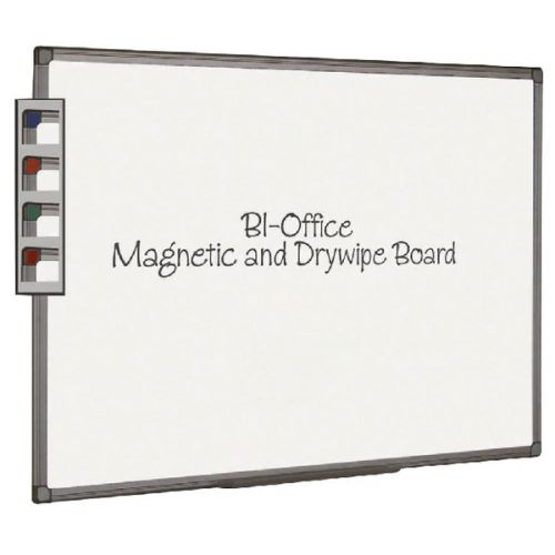 Bi-Office Aluminium Finish Magnetic Board 2400x1200mm MB8606186 - BQ46069