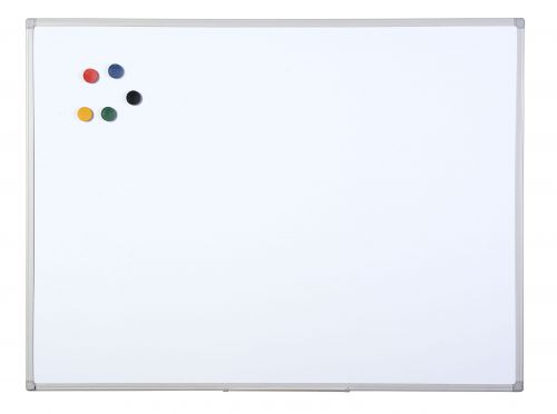 Bi-Office Aluminium Finish Drywipe Board 1200x900mm MB1412186 - BQ46141
