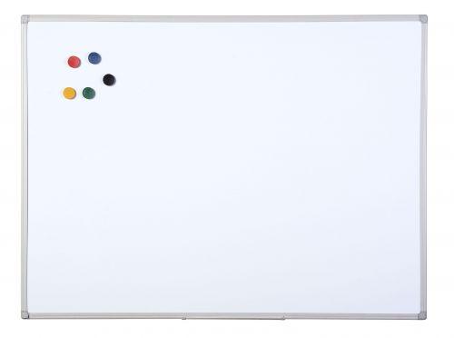 Bi-Office Aluminium Finish Drywipe Board 600x450mm MB0412186 - BQ46186
