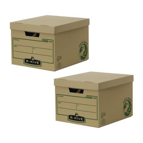 Bankers Box Brown R-Kive Earth Storage Box (Pack of 10) BB810443 BOGOF - BB810443