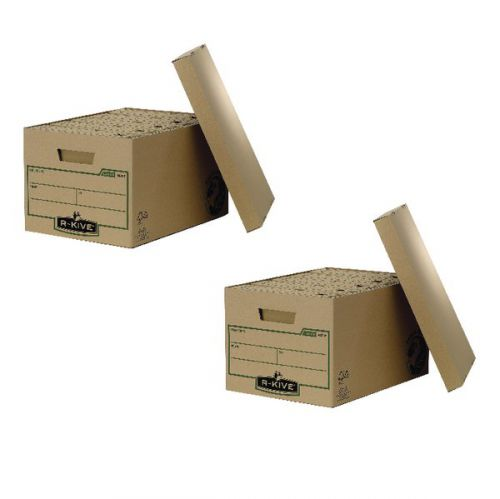 Fellowes Earth Series Large Storage Box (Pack of 10) BB810444 BOGOF - BB810444