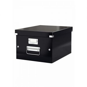 Leitz Click Store Medium Storage Box Black 60440095 - LZ39680