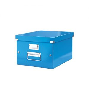 Leitz Click Store Medium Storage Box Blue 60440036 - LZ39811