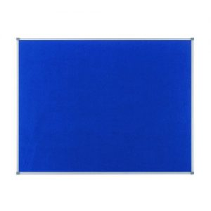 Nobo Classic Blue Felt Noticeboard 600x450mm 1900914 - NB11212
