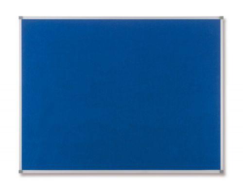 Nobo Classic Blue Felt Noticeboard 1200x900mm 1900916 - NB11214