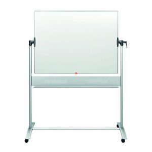 Nobo Classic Enamel Mobile Whiteboard 1200x900mm 1901033 - NB11822