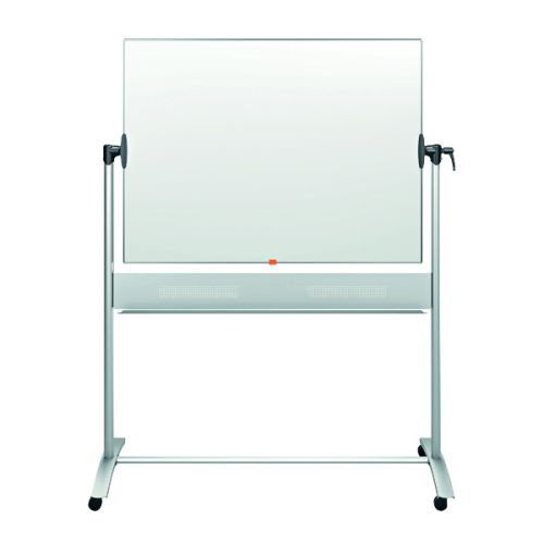 Nobo Classic Enamel Mobile Whiteboard 1200x900mm 1901033 - NB11822