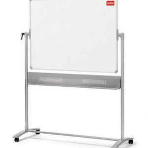 Nobo Mobile Steel Magnetic Horizontal Whiteboard 1200x900mm 1901029 - NB11829