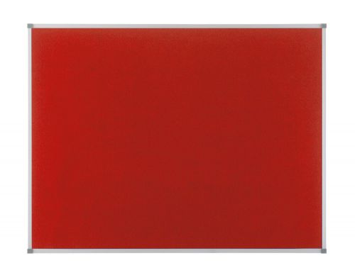 Nobo Classic Red Felt Noticeboard 900x600mm 1902259 - NB19704