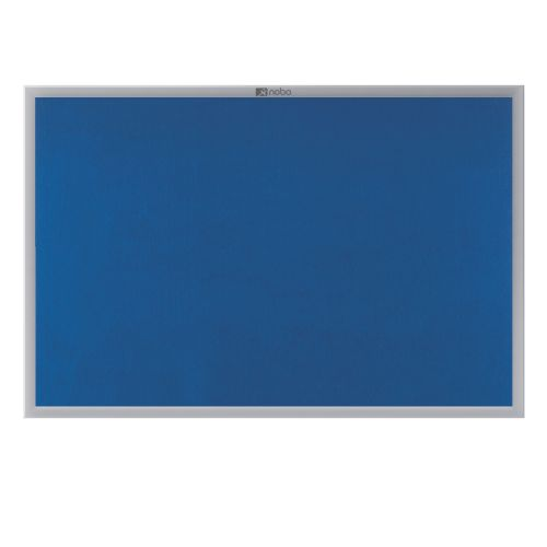 Nobo EuroPlus Blue Noticeboard with Fixings/Frame 900x600mm 30230174 - NB30174