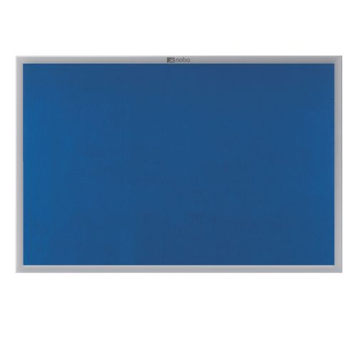 Nobo EuroPlus Blue Noticeboard with Fixings/Frame 1800x1200mm 30230184 - NB30184