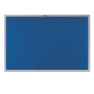 Nobo EuroPlus Blue Noticeboard with Fixings/Frame 1500x1000mm 30234148 - NB34148