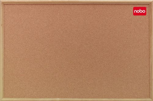 Nobo Classic Cork Noticeboard 1800x1200mm 37639005 - NB39005