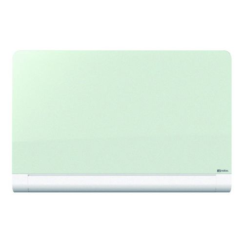 Nobo Widescreen Rounded Glass Whiteboard 57 inch White 1905192 - NB50212