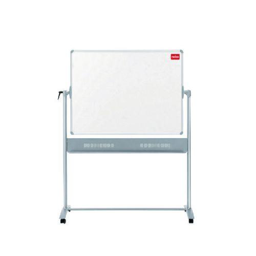 Nobo Basic Melamine Mobile Whiteboard 1200x900mm 1905239 - NB50517