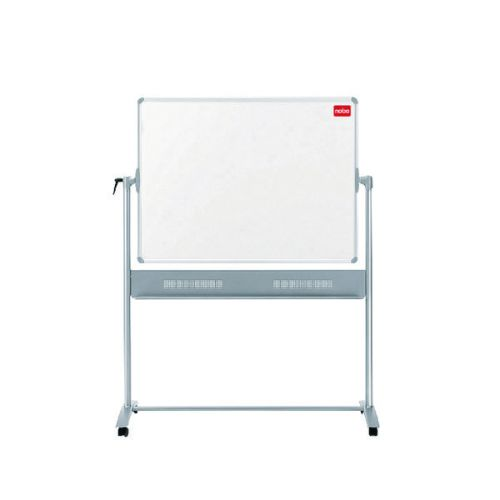 Nobo Basic Melamine Mobile Whiteboard 1500x1200mm 1905240 - NB50518