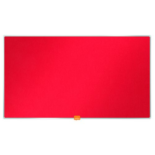 Nobo Noticeboard 32 Inch Felt Red 1905310 - NB52295