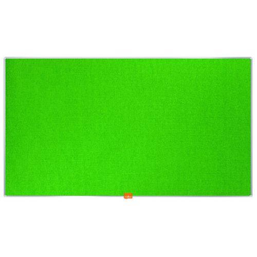 Nobo Widescreen 40inch Green Felt Noticeboard 890x500mm 1905315 - NB52300