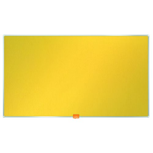 Nobo Noticeboard 32 Inch Felt Yellow 1905318 - NB52303
