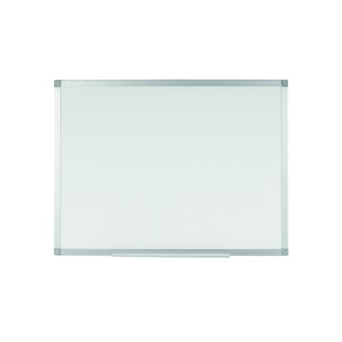 Q-Connect Aluminium Magnetic Whiteboard 1200x900mm 9700032 KF01080 - KF01080