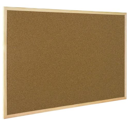 Q-Connect Lightweight Cork Noticeboard 600x900mm KF03567 - KF03567