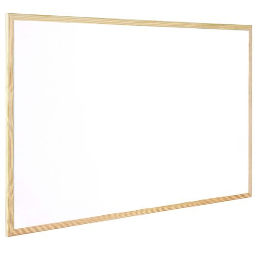 Q-Connect Wooden Frame Whiteboard 400x300mm KF03569 - KF03569