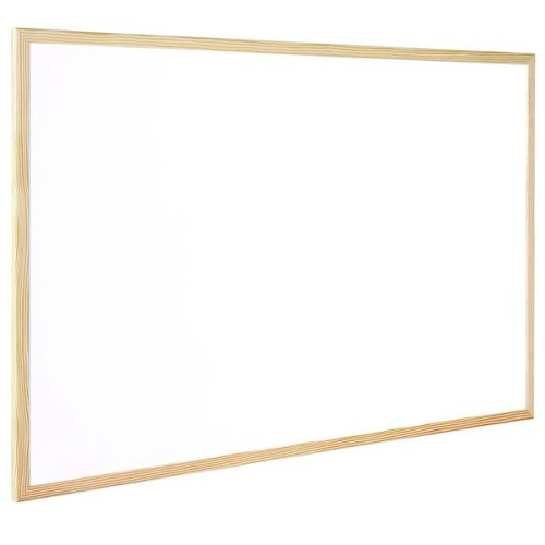 Q-Connect Wooden Frame Whiteboard 1200x900mm KF03572 - KF03572