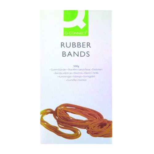 Q-Connect Rubber Bands No.14 50.8 x 1.6mm 500g KF10523 - KF10523