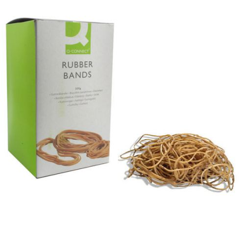 Q-Connect Rubber Bands No.19 88.9 x 1.6mm 500g KF1052 - KF10527